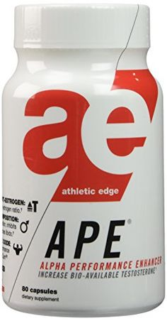 APE is for men looking to maximize testosterone levels libido vigor vascularity and endurance while dropping body fat....