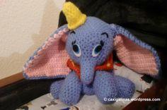Dumbo amigurumi Crochet free pattern / Patrón gratis ganchillo