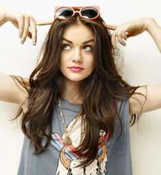 #Lucy #Hale Seventeen Magazine