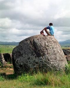 Laos' Plain of Jars - A Mystery Tinted with Danger: Plain of Jars in Phonsavan, Laos