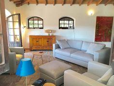 Couch Laguna mit zwei Sesseln und Hocker