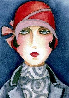 Lady in Grey Coat (Gintare Bruzas)