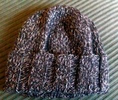 Whether you're looking for that perfect stocking stuffer, last minute holiday gift idea or an easy-to-make mens knit hat pattern, this Simple Wide Brim Hat fits the bill. Because of the basic design, this hat also makes a great present for women too.
