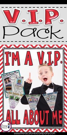 All of our students are Very Important People! Give them a chance to shine by making them the V.I.P. of the week! This pack includes a Back to School activity, V.I.P. poster for the weekly honoree, and V.I.P. booklet for classmates to write letters addressed to that special person. This is a great resource for 2nd through 5th grade elementary school classrooms. ~Literacy Loves Company First Grade, Third Grade, School Classroom, Classroom Ideas, Letter Addressing, Media Literacy, Beginning Of The School Year, Back To School Activities, Important People