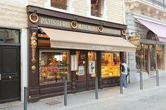 """Pâtisserie Miremont - Biarritz    Fundada 1872. Entre los lugares míticos antiguos de la ciudad , la casa Miremont es testimonio de la rica historia de Biarritz: """" Reina de las Playas , Playa de reyes """" . Rostand escribió: """"A la hora del té hay menos pasteles en Miremont que reinas y menos babas de ron que grandes duques""""."""
