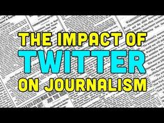 The Impact of Twitter on Journalism | Off Book | PBS