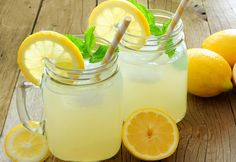 Citronnade légère WW, recette d'une délicieuse boisson rafraîchissante et très gourmande au goût de citron, légère sans sucre, facile et rapide à réaliser