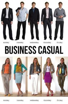 The Gentleman's guide to the business casual dress code