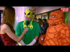 Fantastic Four's The Thing & Iron Fist Cosplay Interview - YouTube
