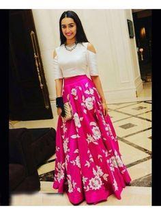 Astha Bridal - Charming Pink Banglori Silk Lehenga Choli