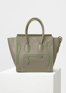 b2f4e9e1fc6399 Micro Debossed Luggage Handbag in Satin Calfskin - Spring / Summer  Collection 2017 | CÉLINE Light