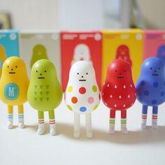 Korea Famous Art Toy Brand Sticky Monster Lab Smoothie Heroes Series SET  #StickyMonsterLab