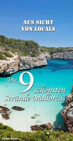 The most beautiful beaches of Mallorca from the viewpoint of Locals - Urlaub - Travel Hotel Am Strand, Mallorca Beaches, Balearic Islands, Most Beautiful Beaches, Beach Trip, Adventure Travel, Places To See, Travel Inspiration, Nature Photography