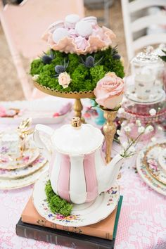 Vintage Tea Party on Kara's Party Ideas | KarasPartyIdeas.com (13)