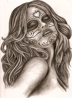 dia de la muerte tattos | dia de los muertos by ~thetattooedgirl on deviantART