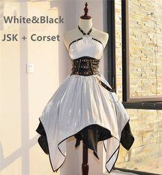 The Locomotive Madien Punk Style Lolita JSK -Pre-order Closed Pretty Outfits, Pretty Dresses, Beautiful Dresses, Kawaii Fashion, Lolita Fashion, Old Fashion Dresses, Fashion Outfits, Mode Lolita, Mode Kimono