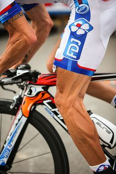 Legs of a true cyclist