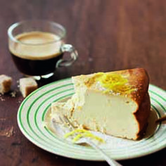 A crustless cheesecake that's simple to make and delicious to eat.