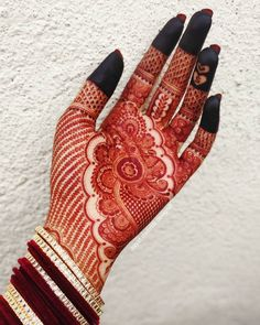 Top mehndi designs for Indian weddings. Rose Mehndi Designs, Latest Bridal Mehndi Designs, Full Hand Mehndi Designs, Henna Art Designs, Stylish Mehndi Designs, Mehndi Designs For Beginners, Mehndi Designs For Girls, Mehndi Design Photos, Wedding Mehndi Designs