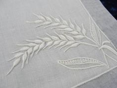 25pc Exquisite Marghab WHEAT Table Runner 12 Placemats And 12 Napkins Set for Sale at Vintageblessings