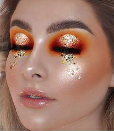 bronze makeup – Hair and beauty tips, tricks and tutorials Makeup Goals, Makeup Inspo, Makeup Art, Makeup Inspiration, Makeup Tips, Beauty Makeup, Makeup Ideas, Photoshoot Inspiration, Orange Makeup