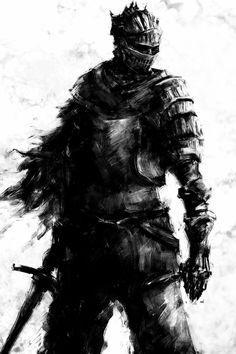 Soul of Cinder- Dark Souls 3 Dark Souls 3, Arte Dark Souls, Dark Fantasy Art, Fantasy Armor, Medieval Fantasy, Dark Art, Medieval Gothic, Ornstein Dark Souls, Seele Tattoo