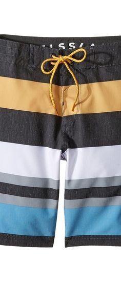 VISSLA Kids Kooktown 4-Way Stretch Boardshorts 17 (Big Kids) (Phantom) Boy's Swimwear - VISSLA Kids, Kooktown 4-Way Stretch Boardshorts 17 (Big Kids), B101BKKT-PHA, Apparel Bottom Swimwear, Swimwear, Bottom, Apparel, Clothes Clothing, Gift, - Street Fashion And Style Ideas