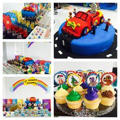 What an incredible Wiggly party! #thewiggles #wigglyparty #wigglesparty #partyideas #wigglescake #wigglesbirthday #childrensparty