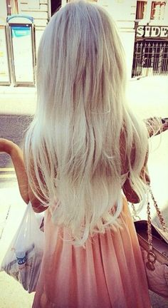 Want my bright blonde back...