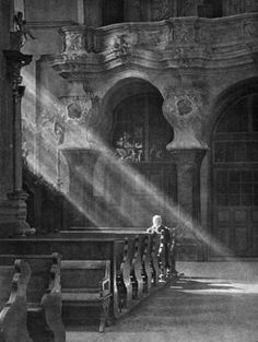Evening Prayer, 1900s by Jan Bułhak.  I truly love this, reminds me of my Father- and his quiet beautiful devotion.
