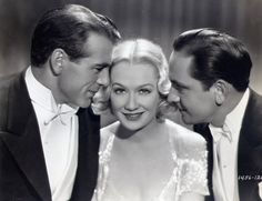 Gary Cooper, Miriam Hopkins and Fredric March in Design for Living (1933)