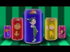 Kukuli Maşa Elifin Düşleri ve Nane ile Limon Kola Şişeleriyle Renkleri Öğretiyorlar - YouTube
