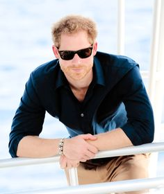HRH tumblr: Prince Harry visits the coral reef off Grand Anse Beach as he visits mangrove restoration projects ahead of visiting the coral reef on the ninth day of an official visit to the Caribbean on November 28, 2016 in St Georges, Grenada.