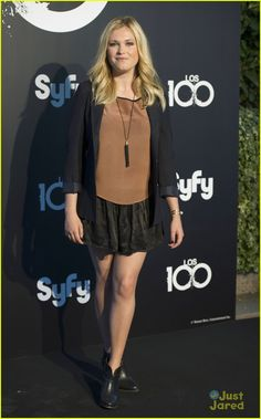 Eliza Taylor at the Madrid Photo Call of 'The 100' Finale