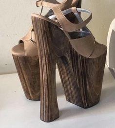 Wooden Clogs, Platform High Heels, Peeps, Women's Fashion, Sky, Moda Femenina, High Heels, Heaven