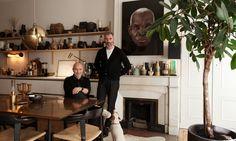 Portrait Maison Hand Créateur Salon Pierre Emmanuel Martin et Stéphane Garotin Lyon