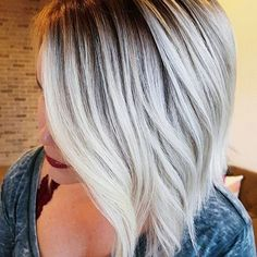 Short Cool Tones Hair