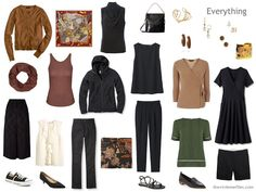 Capsule Wardrobe inspired by Art: Portrait of Madame Lisle and Madame Loubens by Degas