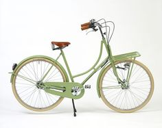 Beg Bicycleうぐいす色の自転車