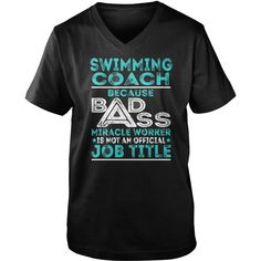Best #SWIMMING COACHFRONT Shirt,  Order HERE ==> https://www.sunfrogshirts.com/Hobby/123235390-672380662.html?8273,  Please tag & share with your friends who would love it,  #superbowl #renegadelife #christmasgifts  #swimming workout, swimming technique, swimming tips  #family #animals #goat #sheep #dogs #cats #elephant #turtle #pets