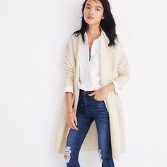 Fulton Sweater-Coat : shopmadewell cardigans & sweater-jackets | Madewell