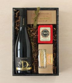 Early Spring Gourmet 2017 Collection: Sparkling Crate | Winston Flowers