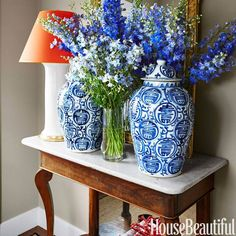 70+ Beautiful Spring Flowers - Pretty Pictures of Spring Flower Arrangements - House Beautiful