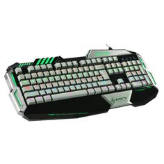 Learn more Mechanical PC Gaming Keyboard, TNI's New True Tournament Grade Mechanical Gaming Keyboard, Multi-Glare and Rainbow Backlit Colors, 8 Mainstream Game Mode, Support All Keys No Conflict, and