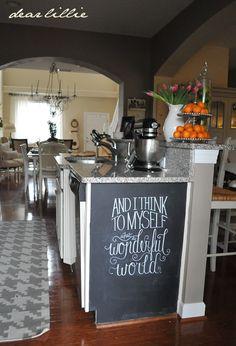 Dear Lillie: Our Kitchen