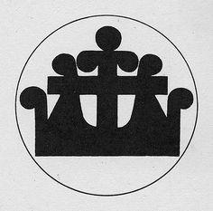 Confrontation Study by Armin Hofmann, 1965 Armin Hofmann, Phone Mockup, Design Department, Dotted Line, Chevrolet Logo, Logo Branding, Old School, Signage, Identity