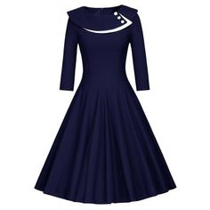 SHARE & Get it FREE   Button Layered Swing DressFor Fashion Lovers only:80,000+ Items·FREE SHIPPING Join Dresslily: Get YOUR $50 NOW!