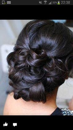 Weddimg hair