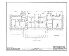 HABS VA,7-ARL,1- (sheet 1 of 18) - Arlington House, Lee Drive, Arlington National Cemetery, Arlington, Arlington County, VA