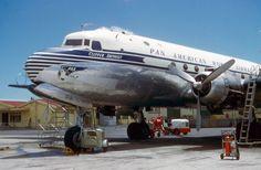 Pan Am DC-4 - 1955